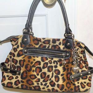 Kathy Van Zeeland Leopard print Handbag